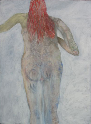Berger, Yves, Figure with red hair, 2005/10